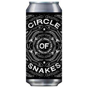 Black Iris Circle of Snakes
